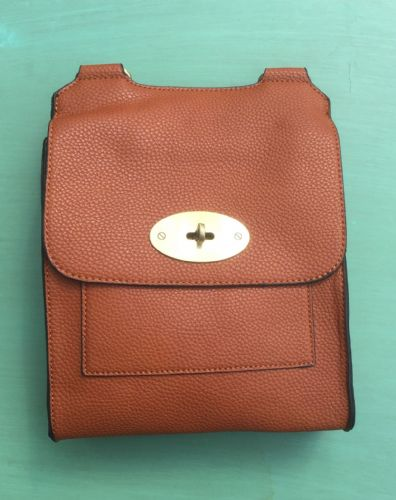 Faux Leather Antony Messenger Bags